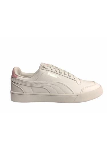 Puma Ayakkabı Shuffle Jr 37568804 Beyaz